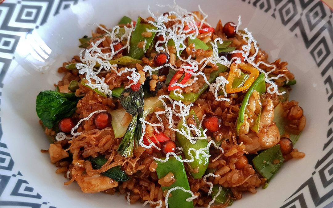 Montoro Bio-Reis mit Gemüse